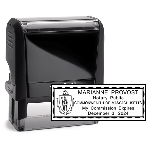 Notary Rectangle Stamp - Self-Inking