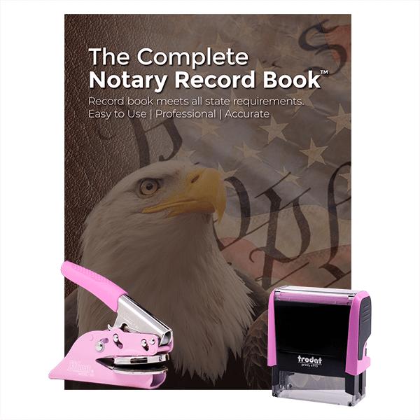 South Dakota Pink Value Notary Kit