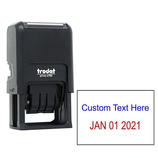 Top Line Custom Date Stamp
