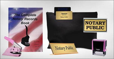 Official State Notary Supplies